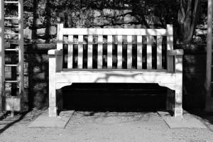 ogrodowa ławka