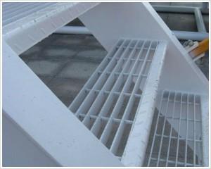 stopnie schodowe metalowe