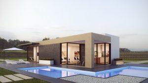 nowoczesne domy z kontenerów