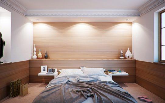 Łóżko - jedyny mebel w sypialni?