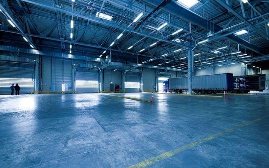 Rosnąca liczba hali produkcyjnych