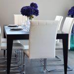 eleganckie krzesła jadalnia kuchnia