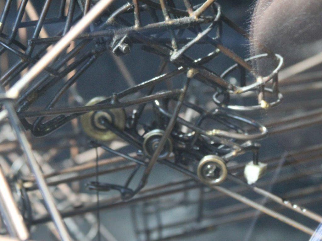 wózki osiatkowane